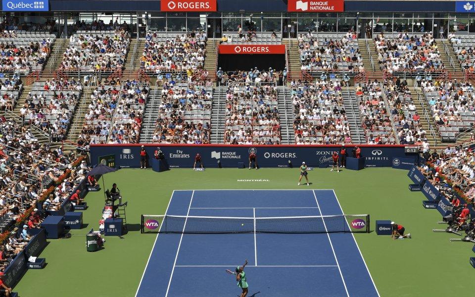 Организаторите на турнира на WTA в Монреал решиха да отменят