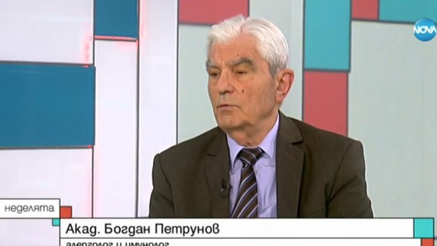 алергологът Богдан Петрунов