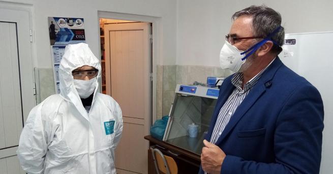 Взети са първите 80 проби за коронавирус на контактни жители