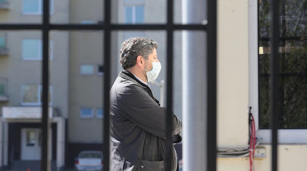 Христо Иванов на разпит в столичната полиция