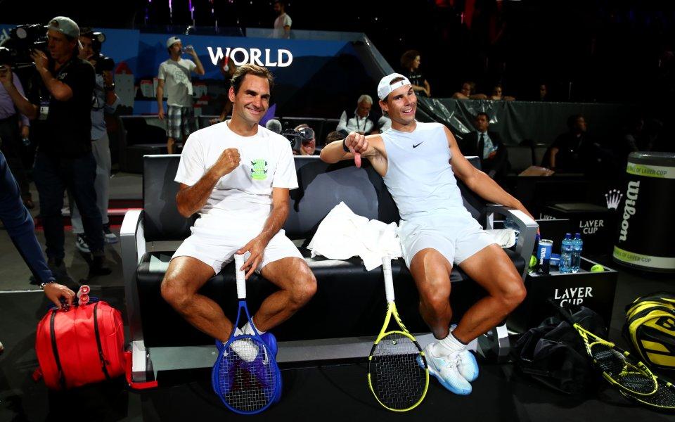 Федерер и Надал са били против съюз на играчите