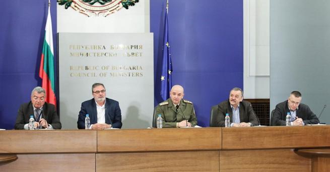 Националният оперативен щаб ще дава пресконференция веднъж седмично в Министерския