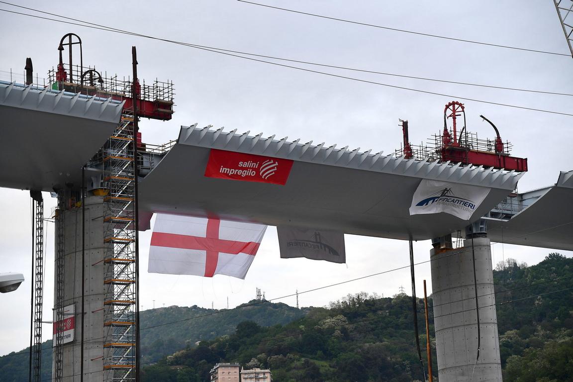 <p>Напоследък мостът се превърна и в символ на италианската гордост, тъй като дори свирепият коронавирус не успя да спре неговото строителство.</p>