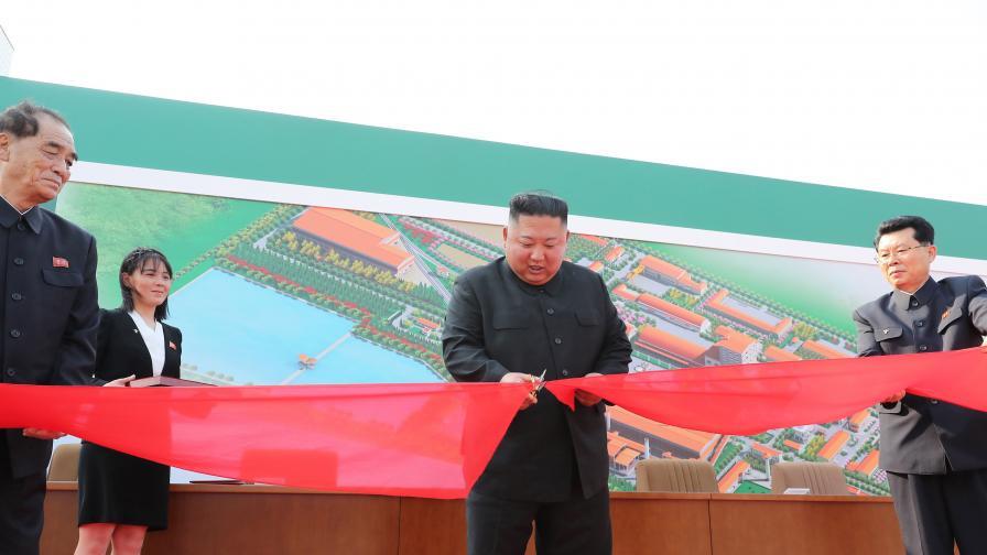 Ким Чен Ун с първа публична изява след 20 дни отсъствие