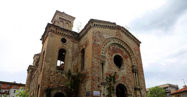 Един от символите на Видин – сградата на бившия еврейски