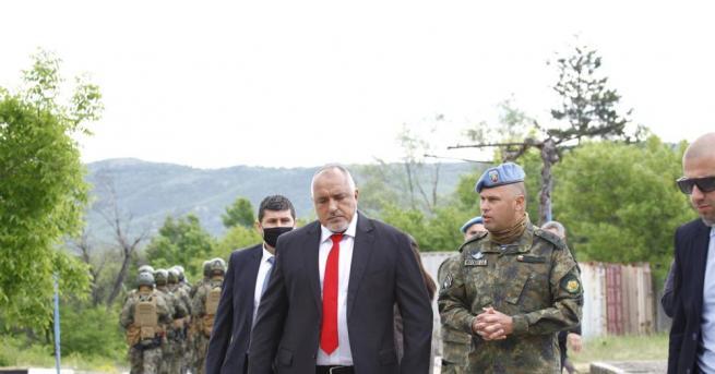Министър-председателят Бойко Борисов присъства на демонстрациите на военните командоси от