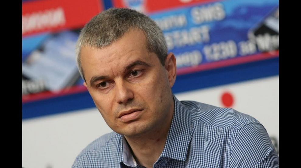 Костадинов нахлу в Съдебната палата на протест срещу...