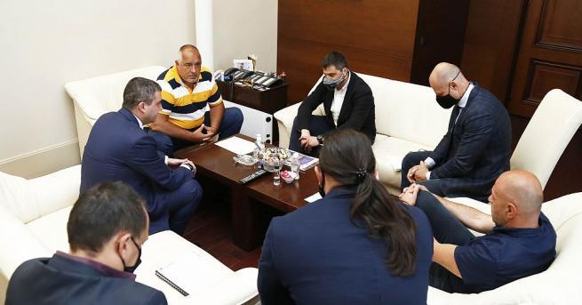 Министър-председателят Бойко Борисов се срещна с представители на ресторантьорския и