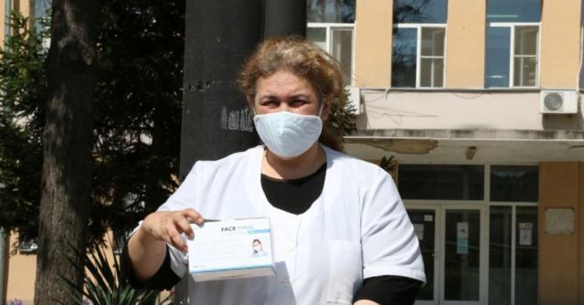Общо 750 медицински маски получи Общината от дарител, които бяха