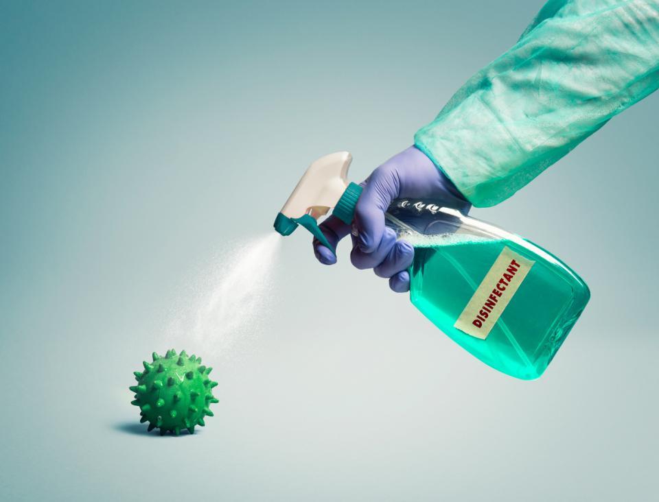 дезинфекция дезинфектант миркоби вирус бактерии