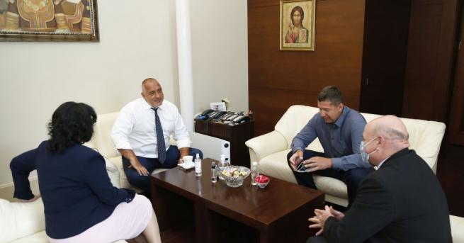 Министър-председателят Бойко Борисов се срещна с представители на организации в