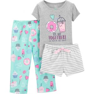 Комплект пижама 3 части