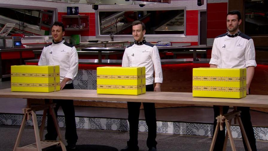 Цветомир, Реджеп и Атанас - в челната тройка за победа в Hell's Kitchen България