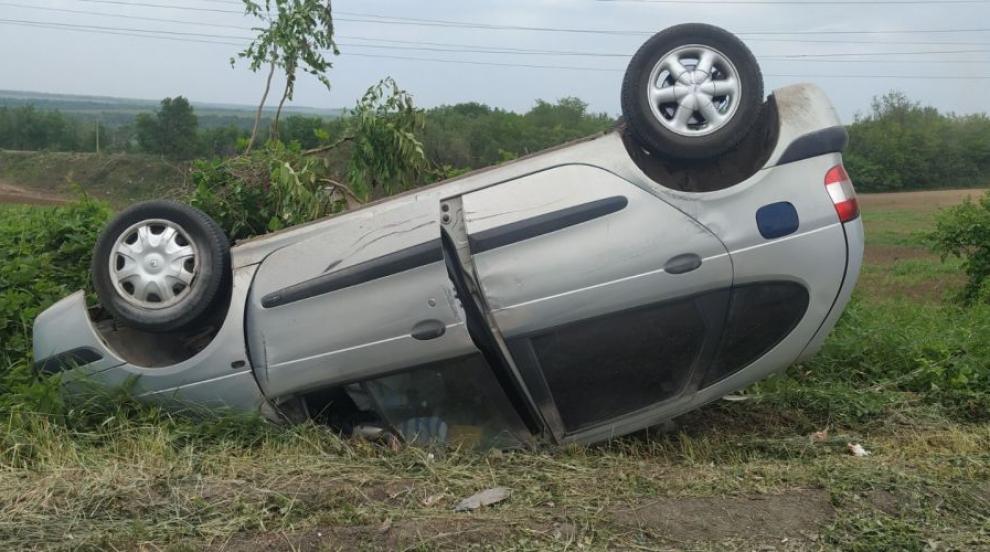 Кола с две деца се обърна по таван при тежка...