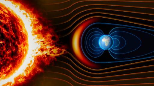 <p>Има проблем с магнитното поле на Земята</p>