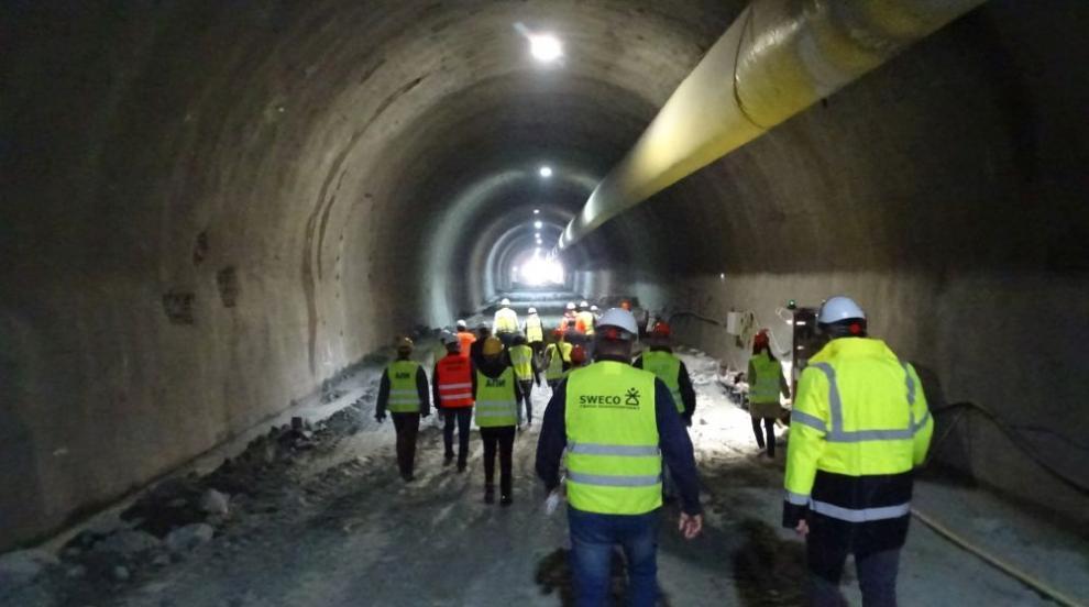 """Кога ще бъде готов тунел """"Железница"""" (ВИДЕО/СНИМКИ)"""