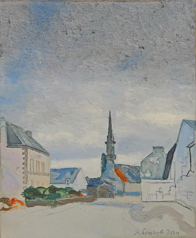 <p>Градче в Бретан 2019</p>  <p>Изложба &bdquo;Бретан 2018, Париж 1982&rdquo; на Милко Божков, в Галерия &bdquo;nOva art space&rdquo;</p>