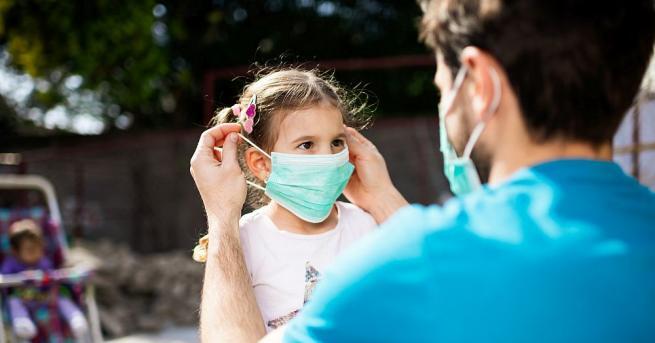 Децата обикновено са с по-леки симптоми на Covid-19 от възрастните