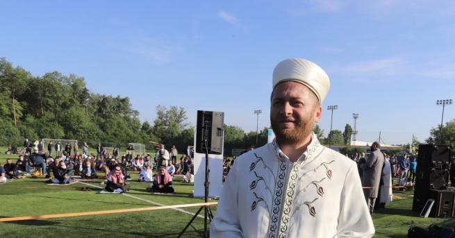 За първи път мюсюлманската общност в София се събра на
