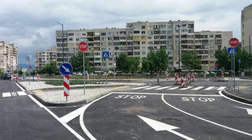"""Пускат движението по новоизградения бул. """"Петър..."""