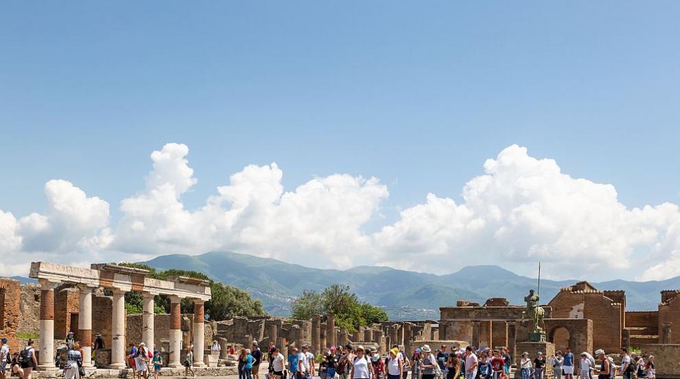 Археологическият парк Помпей в Италия отново приема...