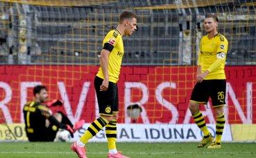 Сериозни кадрови проблеми за Дортмунд
