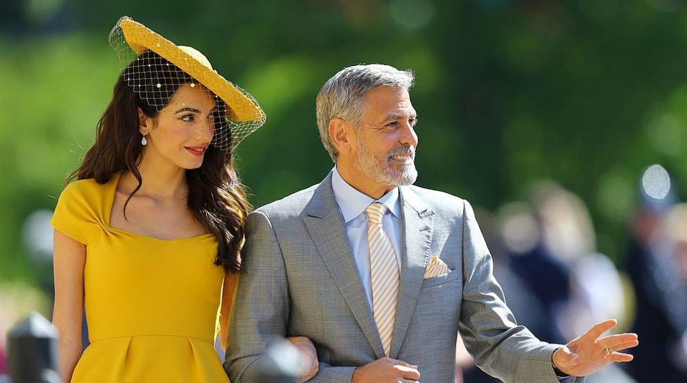 Кога се запознават семейство Клуни и херцозите на...