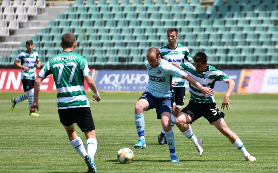 Отборите на Черно море и Дунав играят при резултат 0:1в
