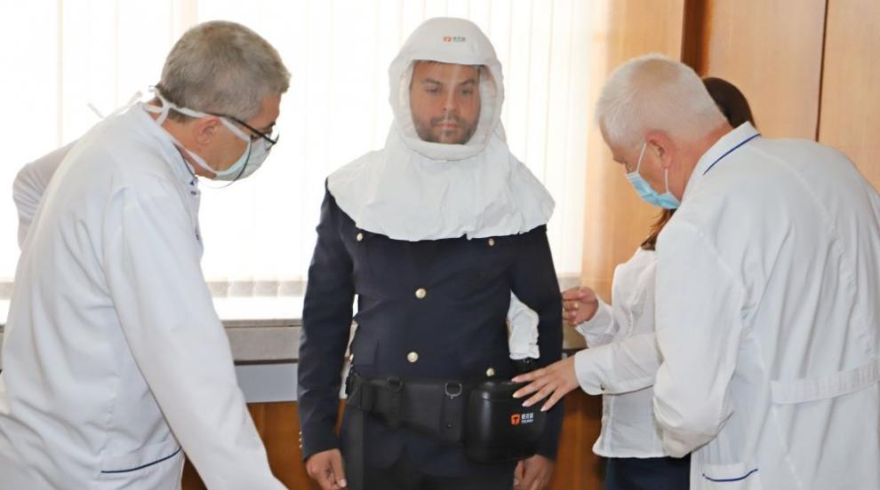 Манджуков дари на ВМА 10 апарата за филтрация на...