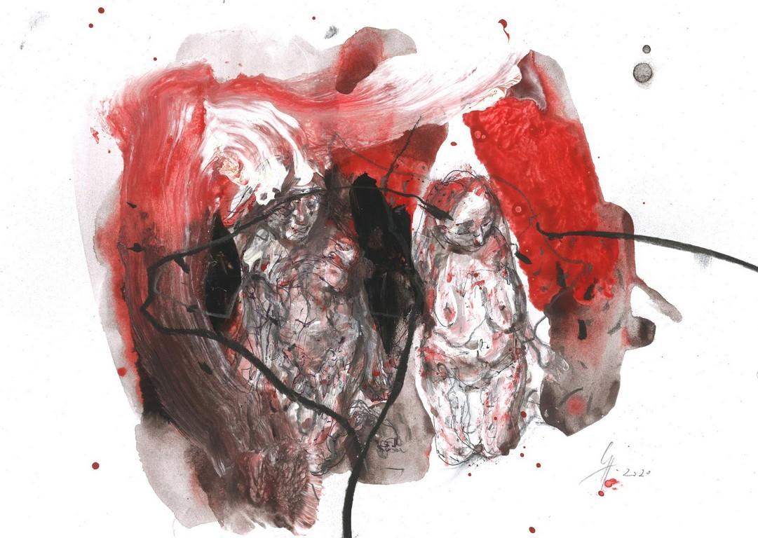 <p>Цикъл &bdquo;Докосване&ldquo;</p>  <p>Изложба &bdquo;Монолози &ndash; рисунки в изолация&rdquo; от проф. Станислав Памукчиев, в Галерия &bdquo;Арте&rdquo;</p>  <p>Изложбата представя рисунки от последнитe два месеца, в условия на принудителна изолация.</p>  <p>&nbsp;</p>