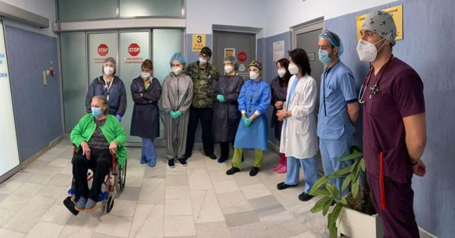 75-годишната леля Здравка от село Петърч е абсолютниятрекордьор сред болните