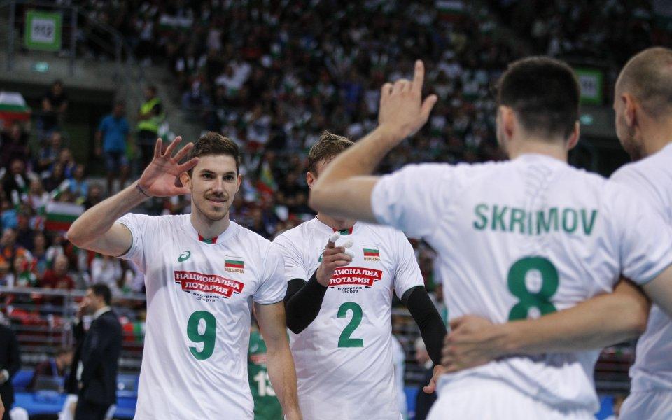 Разпределителят на националнияволейболен отбор на България за мъжеГеорги Сеганов бе