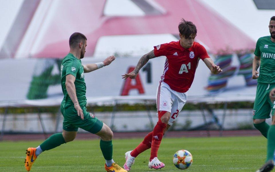 Отборите на ЦСКА и Ботев Враца играят приятелска среща помежду