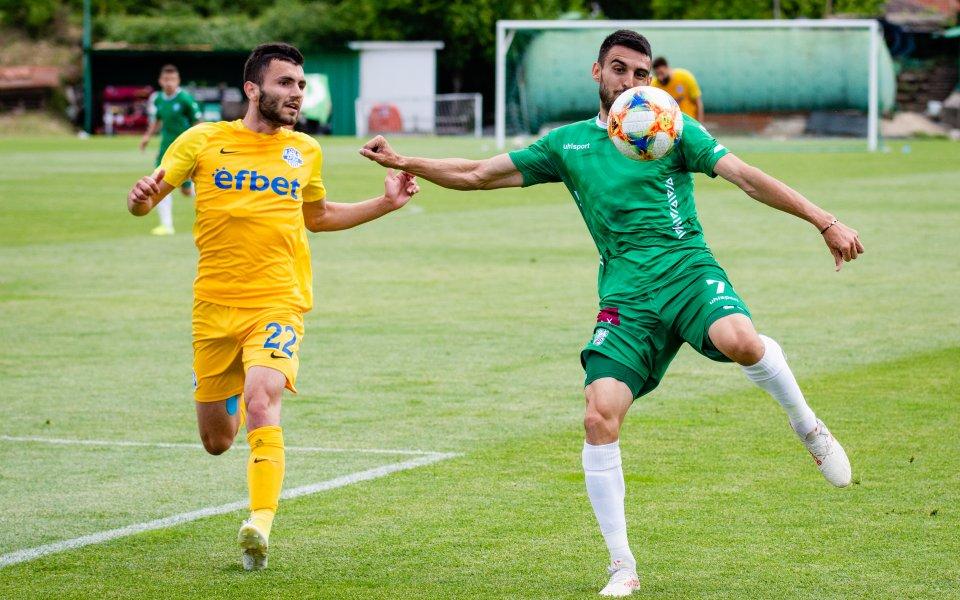 Отборът на Берое победи с минималното 1:0 Арда в контрола.