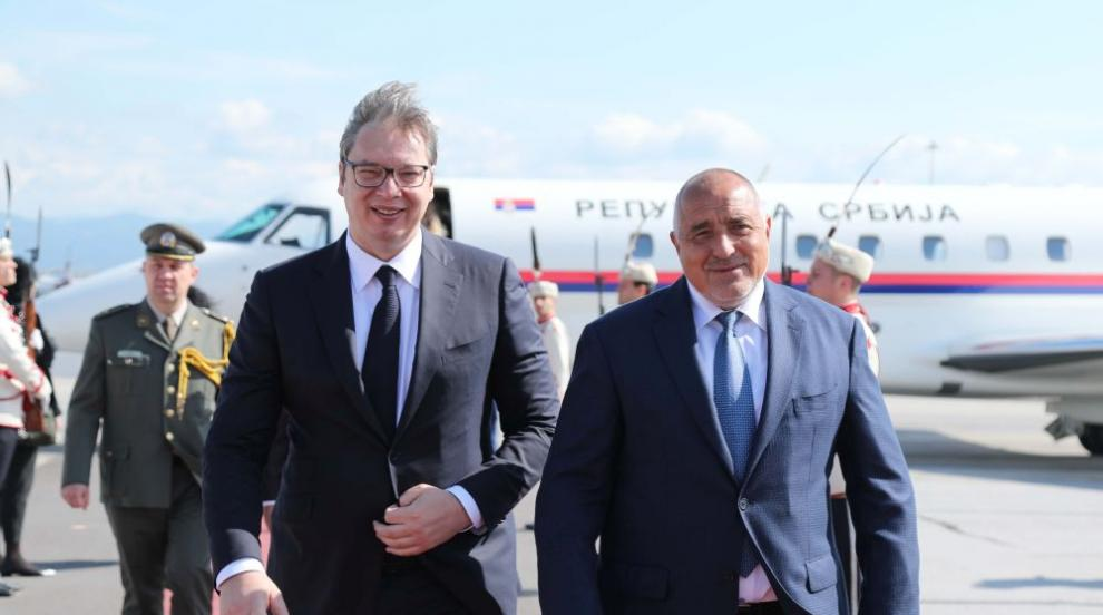 Премиерът Борисов посрещна президента на Сърбия...