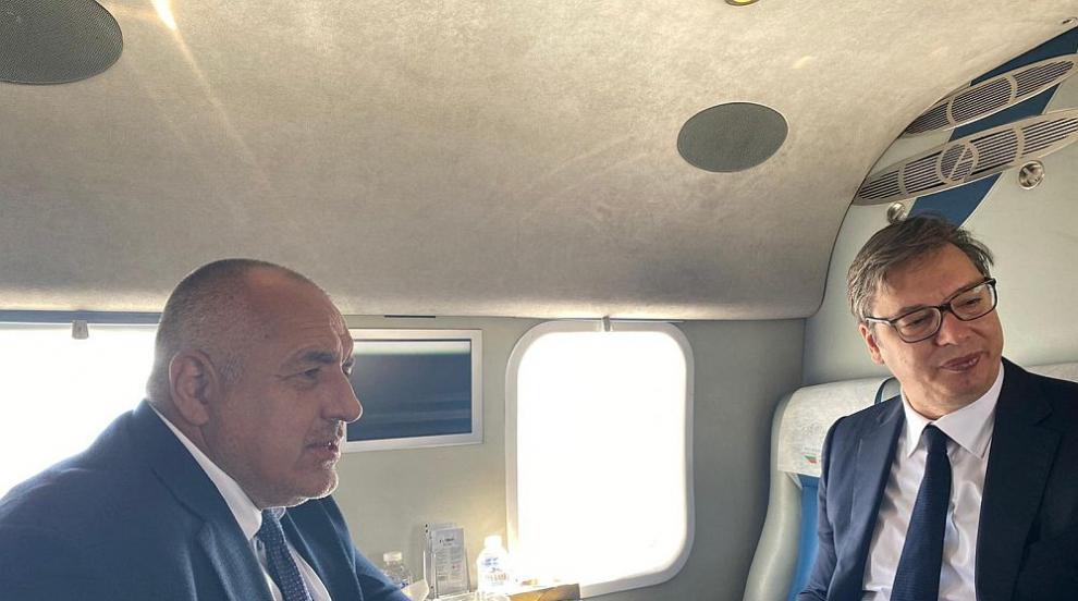 "Борисов и Вучич инспектираха строежа на АМ ""Европа""..."