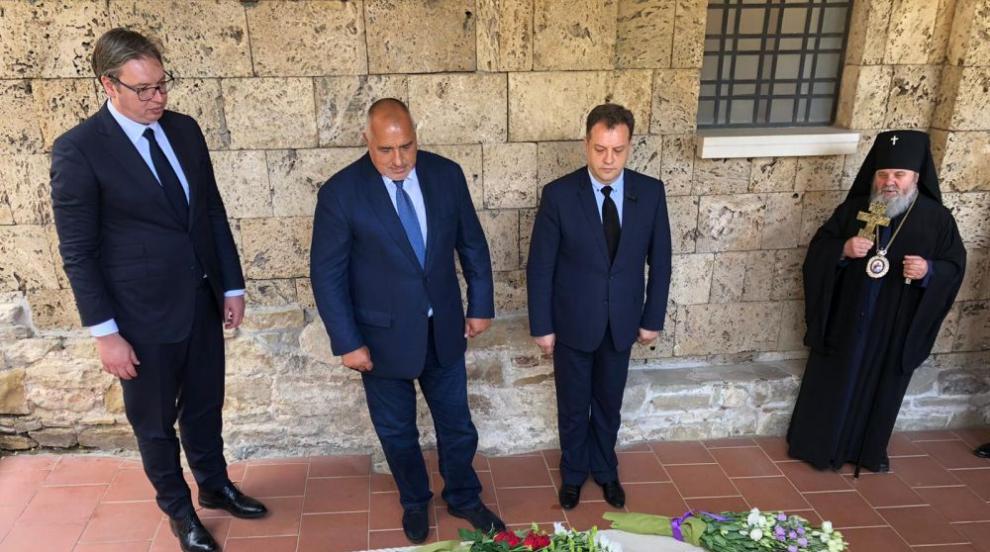 Българският премиер и сръбският президент почетоха...