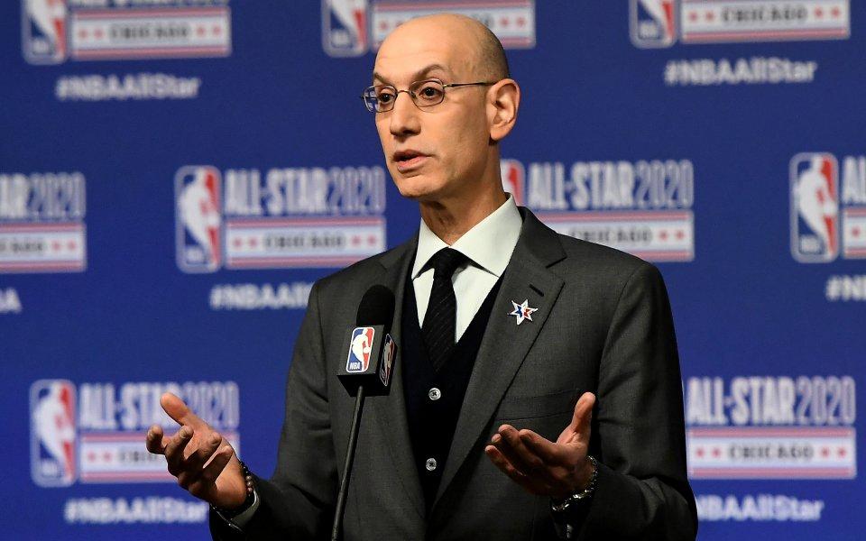Комисионерът на НБА Адам Силвър призова всички 30 тима да