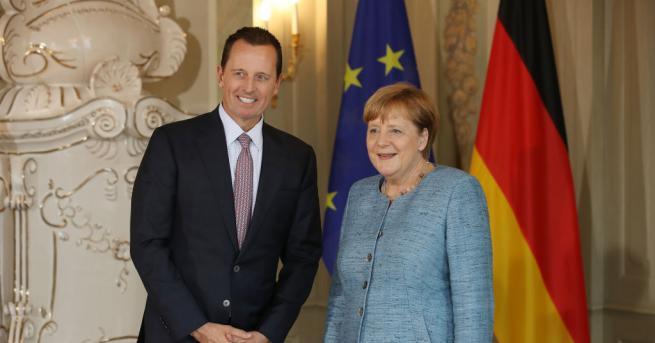 Посланикът на САЩ в Германия Ричард Гренел, който е близък