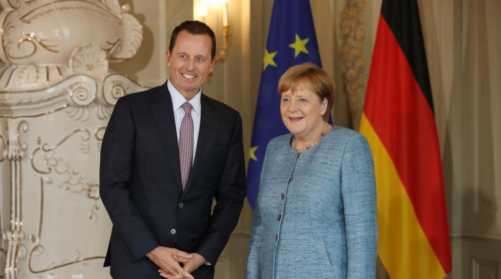 Посланикът на САЩ в Германия Ричард Гренел подаде...