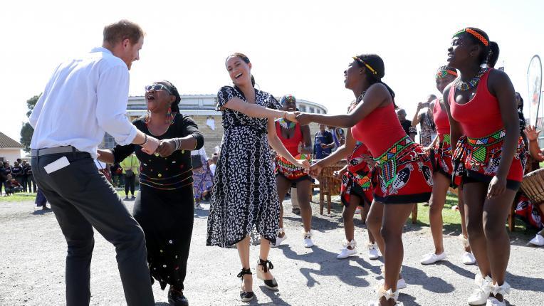 Танците на британското кралско семейство