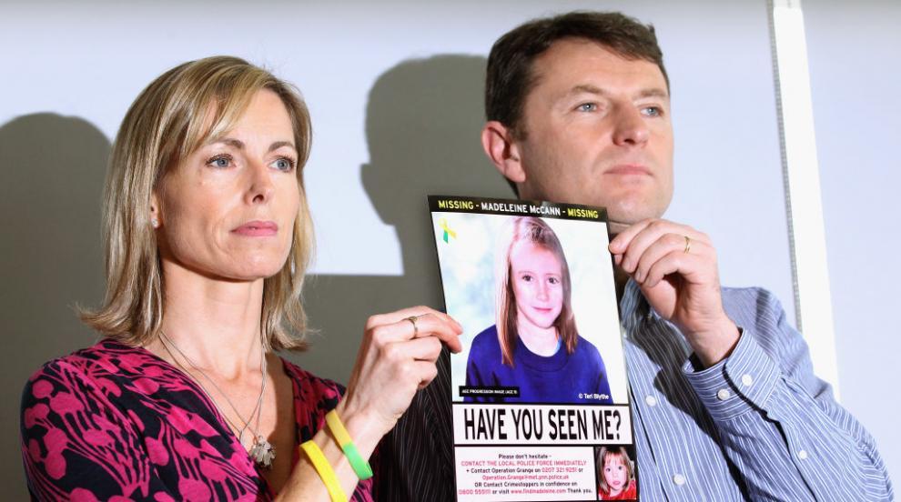 Откриха нов заподозрян за изчезналата преди 13 г. Маделин Маккан