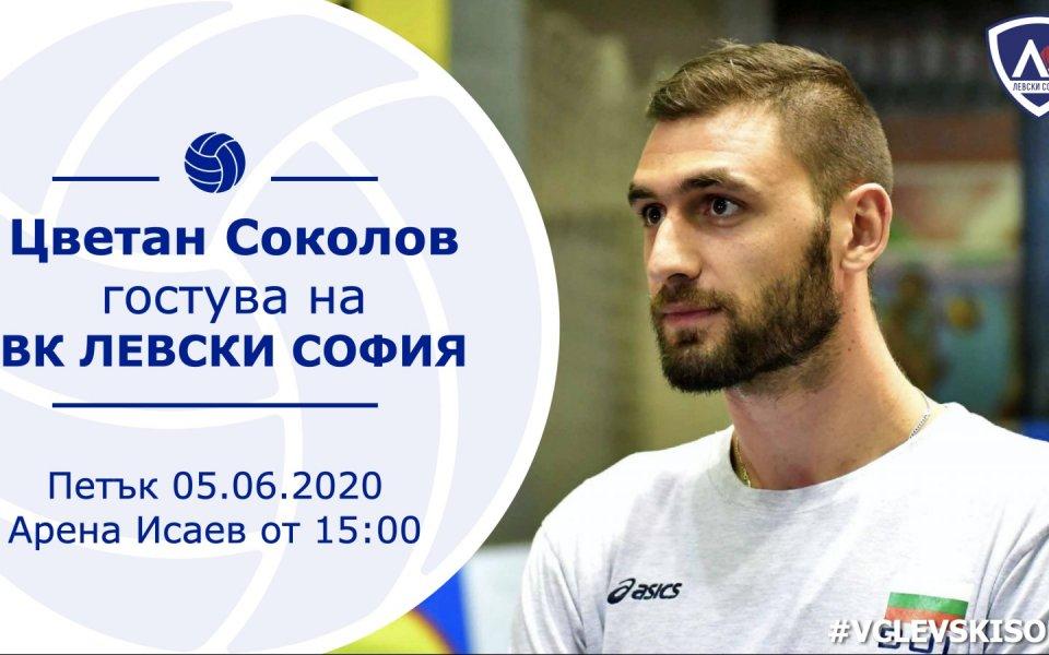 НационалътЦветан Соколове следващият звезден гост, който ще се срещне със
