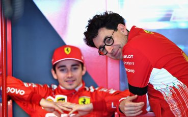 Шеф на Ферари: Кой ще бъде първи пилот ще се реши на пистата