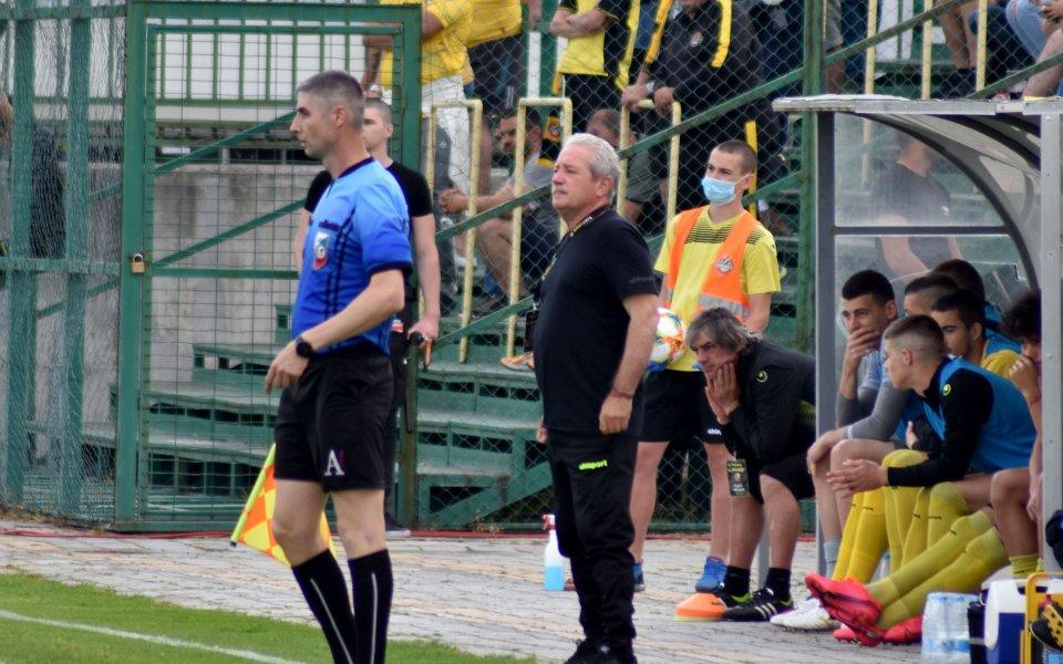 Старши треньорът наБотев ПловдивФерарио Спасовсподели пред клубната медия очакванията си