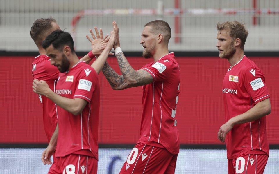 В мач от 3-ия кръг на Бундеслигата Унион Берлин се