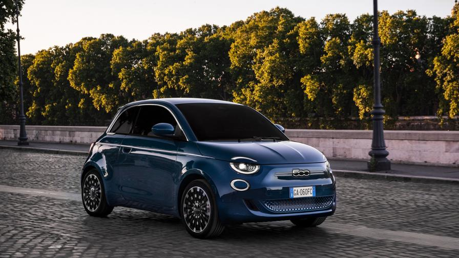 <p>Италиански шик на ток: новият Fiat 500</p>