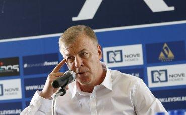 Сираков обяви притеснителна новина, която може да удари по българския спорт