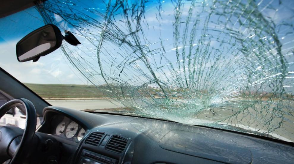 Пиян шофьор предизвика катастрофа в Благоевградско
