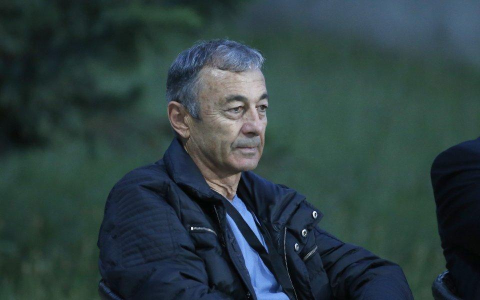 Изпълнителният директор на ЦСКА Пламен Марков коментира в интервю в